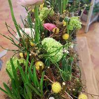 Art floral Valenciennes Hé fleur et moi fleuriste atelier la nature se réveille