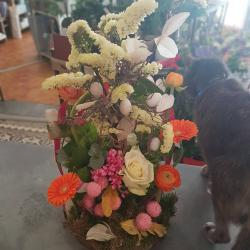 Art floral Valenciennes Hé fleur et moi fleuriste atelier paques
