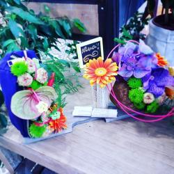 Atelier art floral Enfant Merci Maitresse Valenciennes Hé fleur et moi fleuriste en
