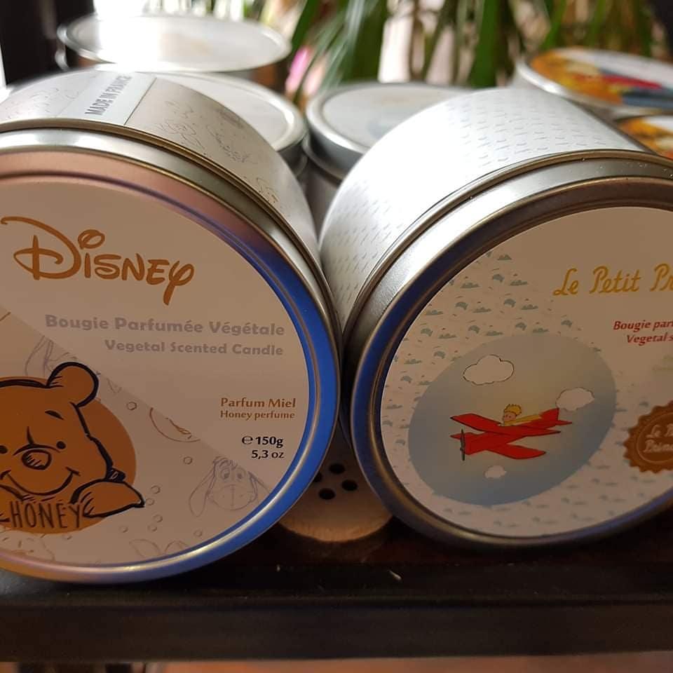 Bougie parfumée Disney fleuriste de Valenciennes Hé fleur et moi