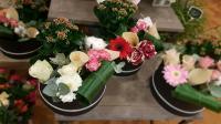 Boite A Chapeau plante et fleurs Hé fleur et moi fleuriste de Valenciennes