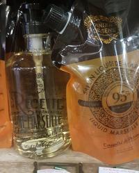 Flacon et recharge savon de Marseille liquide panier des sens 97% naturel