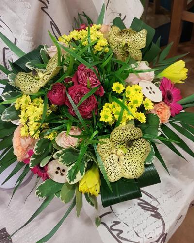 Bouquet fleurs Hé fleur et moi fleuriste de Valenciennes