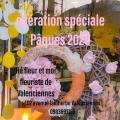 Pâques 2020 fleuriste Hé fleur et moi fleuriste de Valenciennes bouquet