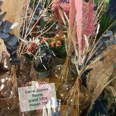 Dame Jeanne fleurs sèchées Valenciennes