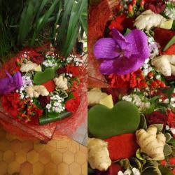 Bouquet saint Valentin love and aphrodisiaque by Hé fleur et moi fleuriste valenciennes