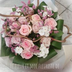 Bouquet chic chez hé fleur et moi fleuriste de Valenciennes bouquet
