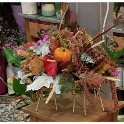 fleuriste Valenciennes a découvrir chez hé fleur et moi art floral decor d'automne