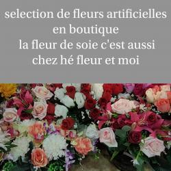 Fleur artificielle fleuriste de Valenciennes bouquet hé fleur et moi fleuriste