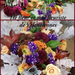 fleuriste de Valenciennes hé fleur et moi bouquet