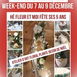 Marché de Noël Valenciennes Fleuriste Hé fleur et moi