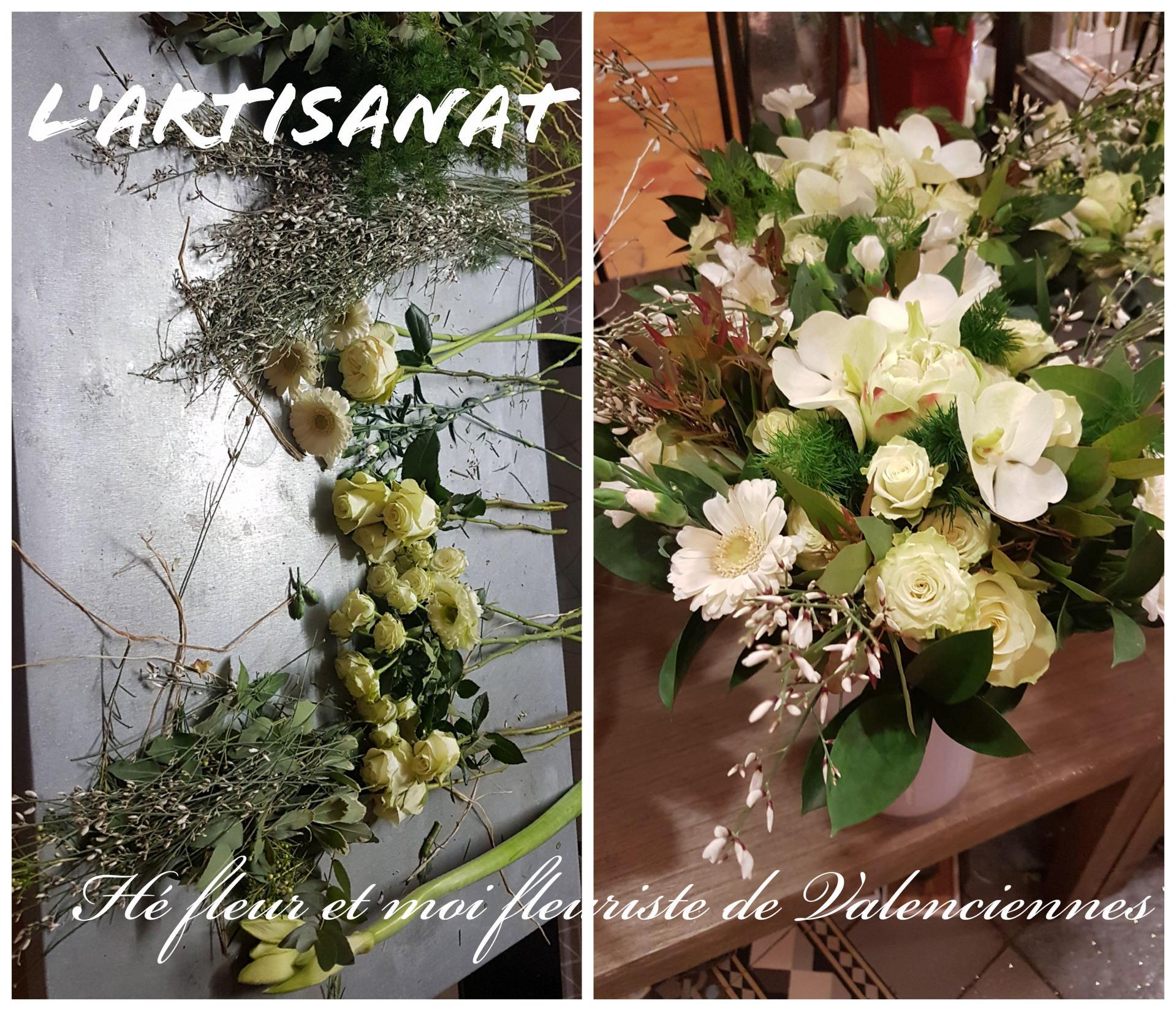 Fleuriste Valenciennes He Fleur Et Moi Art Floral Deuil Saint Valentin