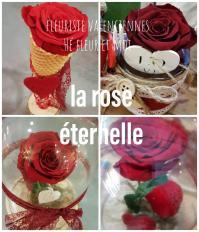 La rose éternelle chez hé fleur et moi Sous cloche style la Belle et la Bête Dans son pavé de verre  Dans son cornet patissier parce ce que l'amour est la plus belle des gourmandises. Une bonne idée cadeau pour la Saint-Valentin à Valenciennes #saintvalentin #rosestabilisée #roseeternelle #Valenciennes  #fleuriste #hefleuretmoi #amour #rose #anzin #lasentinelle #hainaut #nord #AulnoylesValenciennes #PetiteForêt #marly #préseau #curgie #lequesnoy #denain #saintamand