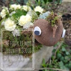 Valenciennes fleuriste écolo Hé fleur et moi fleuriste éco responsable Nord