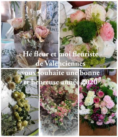 Hé fleur et moi fleuriste de Valenciennes bonne année 2020
