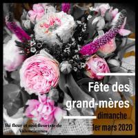 fete des grand-mère mamies chez hé fleur et moi fleuriste de Valenciennes