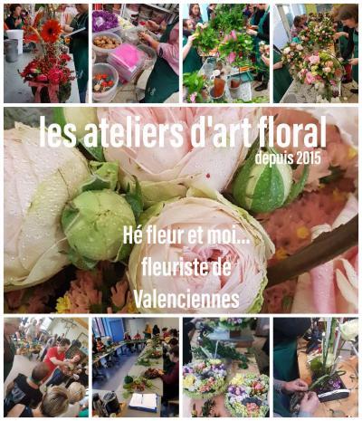 Atelier art floral fleuriste de Valenciennes La Sentinelle
