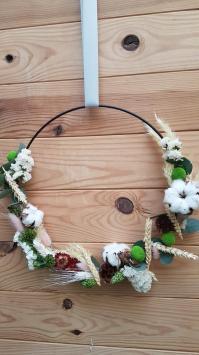 Composition de fleurs sèchées Hé fleur et moi fleuriste de Valenciennes