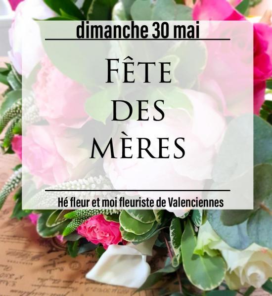 Fête des mères fleuriste valenciennes