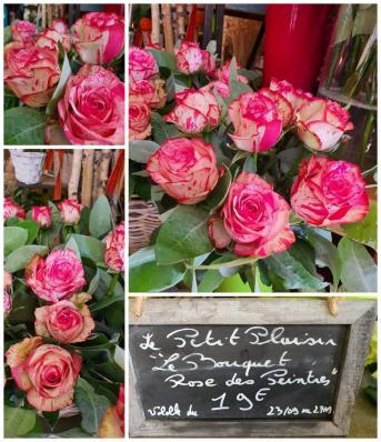 Bouquet de roses fleuriste valenciennes